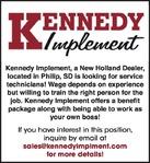 Service Technicians Kennedy Implement