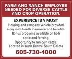 Farm/Ranch Help - Pheasant Crest